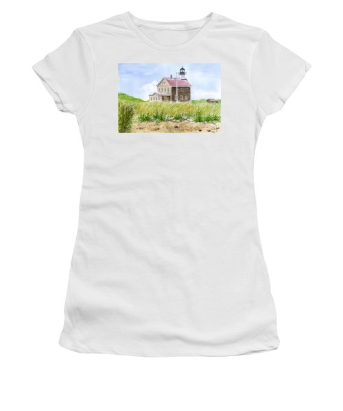 North Light - Block Island Women's T-Shirt (Athletic Fit)