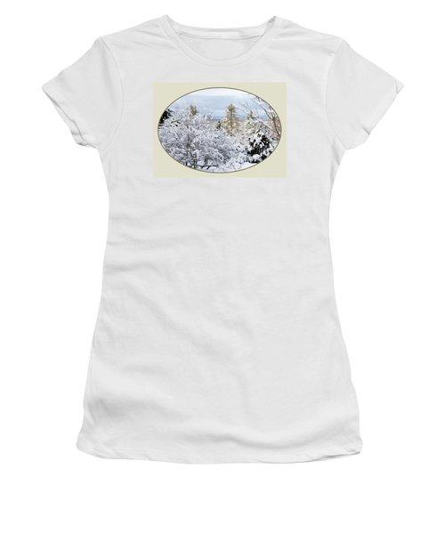 northeast USA photography button Women's T-Shirt