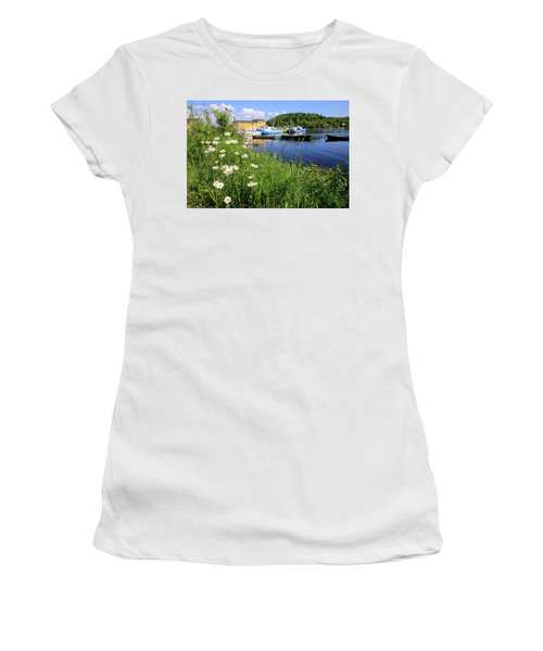 Northwest Harbour, Nova Scotia Women's T-Shirt (Athletic Fit)