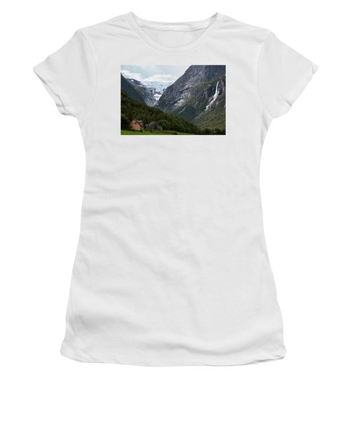 Norway Glacier Jostedalsbreen Women's T-Shirt