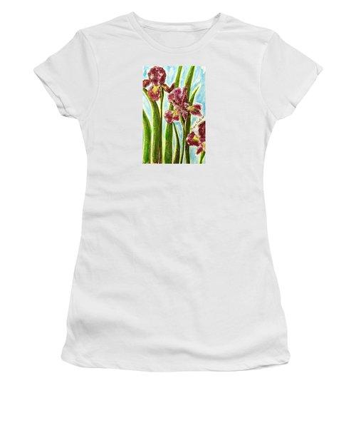 Nostalgic Irises Women's T-Shirt