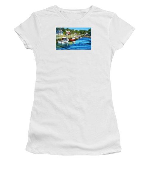 Women's T-Shirt (Junior Cut) featuring the photograph Nova Scotia by Robin Regan