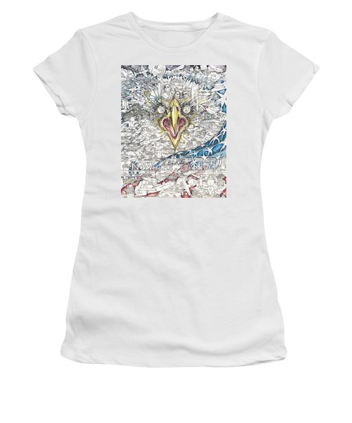Nowhere To Hide Women's T-Shirt (Athletic Fit)