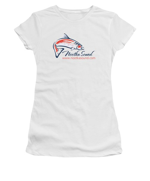 Ns Logo #4 Women's T-Shirt (Junior Cut) by Nootka Sound
