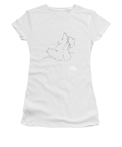 Nude-female-drawings-20 Women's T-Shirt
