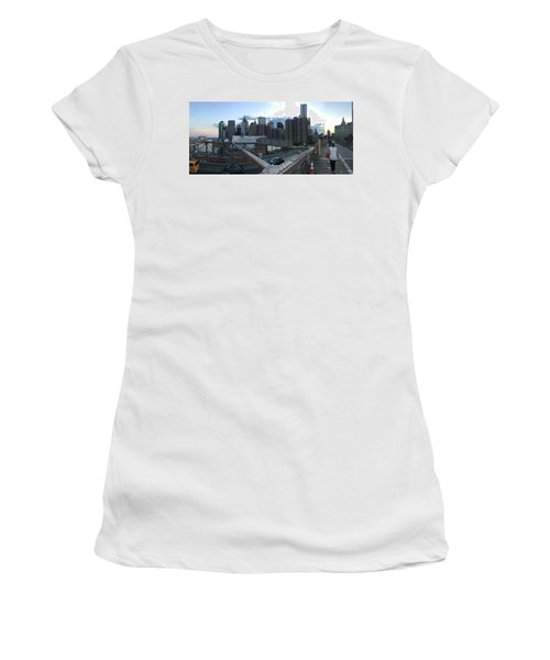 NYC Women's T-Shirt (Junior Cut) by Ashley Torres