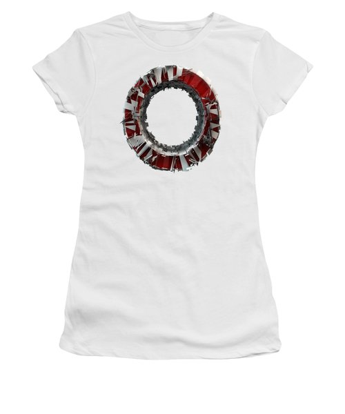 Women's T-Shirt featuring the photograph O Is For The Only One I See by Gary Keesler
