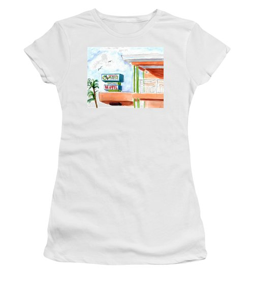 Oasis Women's T-Shirt (Athletic Fit)