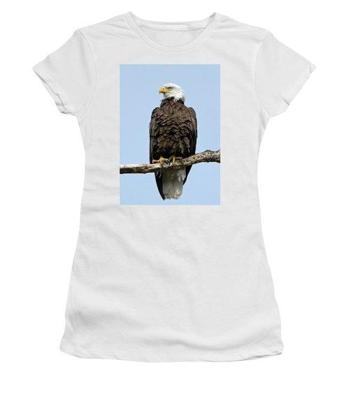 Observant Sentry Women's T-Shirt (Junior Cut) by Stephen Flint