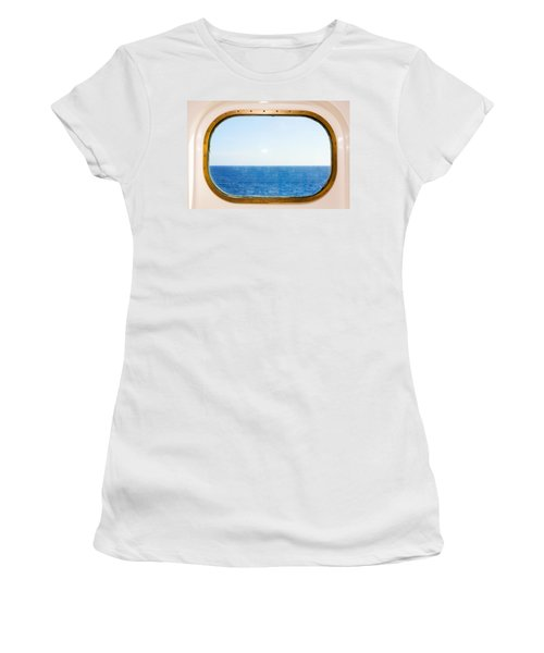 Ocean View Women's T-Shirt (Athletic Fit)