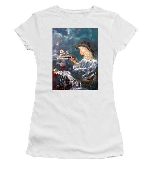 Ocean Wine Women's T-Shirt