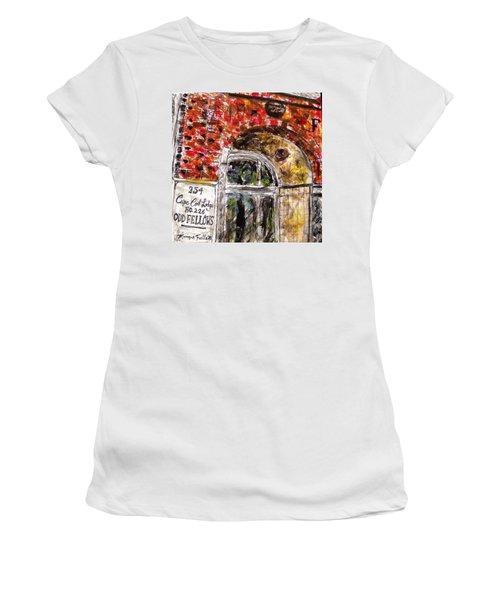 Odd Fellows, Cape Cod Women's T-Shirt