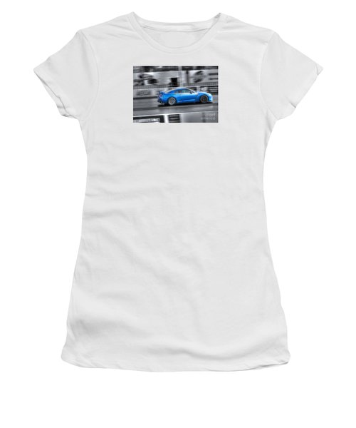 Off The Line Women's T-Shirt (Athletic Fit)