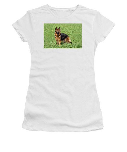 Ohana In Field Women's T-Shirt (Athletic Fit)
