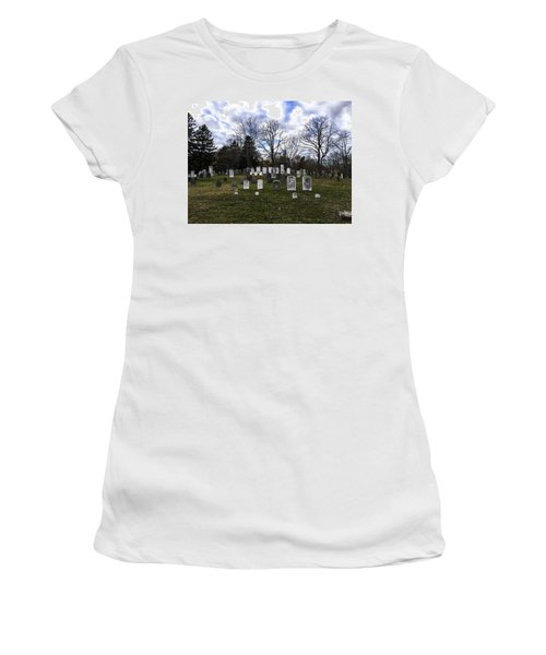 Old Town Cemetery Sandwich, Massachusetts Women's T-Shirt