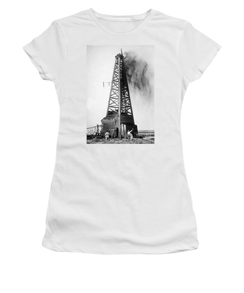Oklahoma: Oil Well, C1922 Women's T-Shirt