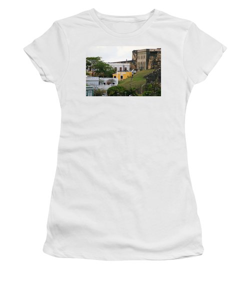 Old And New Women's T-Shirt (Junior Cut) by Lois Lepisto
