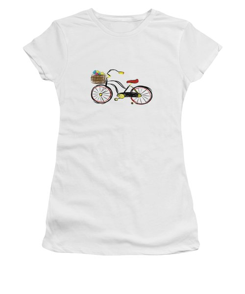 Old Bicycle Women's T-Shirt (Athletic Fit)