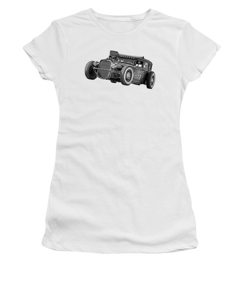 Old Blue Eyes In Black And White Women's T-Shirt