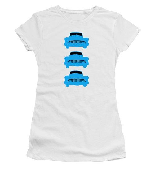 Old Buicks Blue Times Three Women's T-Shirt