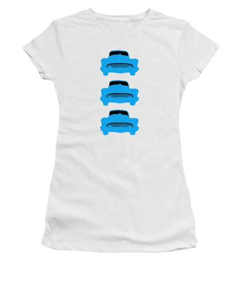 Old Buicks Blue Times Three Women's T-Shirt