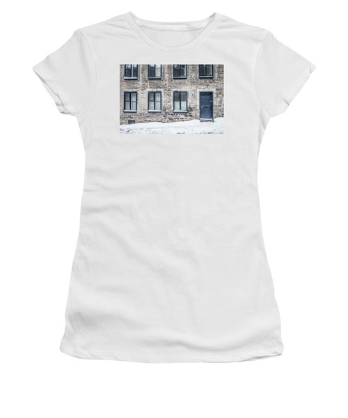 Old Building In Quebec City Women's T-Shirt