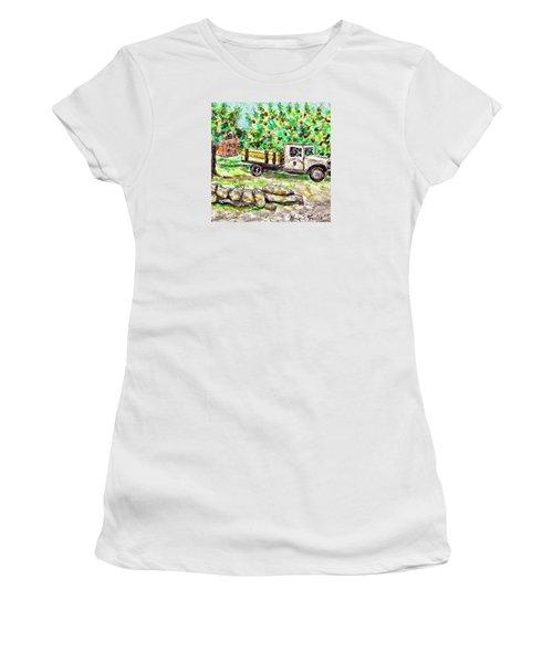 Old Farming Truck Women's T-Shirt