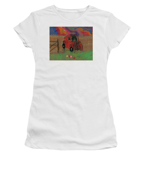 Old Jalopy Women's T-Shirt (Athletic Fit)