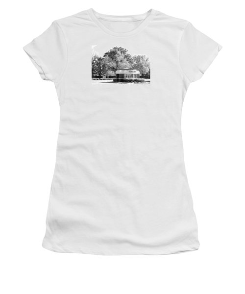 Old Main Gate Women's T-Shirt (Junior Cut) by John Freidenberg