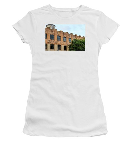 Old Mill Building In Buford Women's T-Shirt