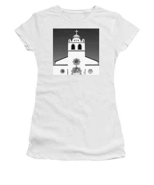 Women's T-Shirt (Athletic Fit) featuring the photograph Old Mission by SR Green