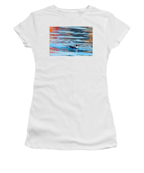 Old Squaw At Dawn Women's T-Shirt