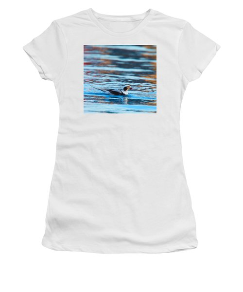 Old Squaw At Dawn Women's T-Shirt (Athletic Fit)