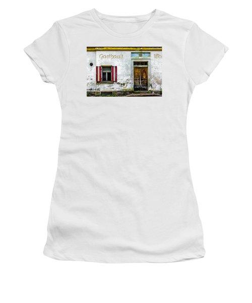 Old Traditional Austrian Tavern Women's T-Shirt