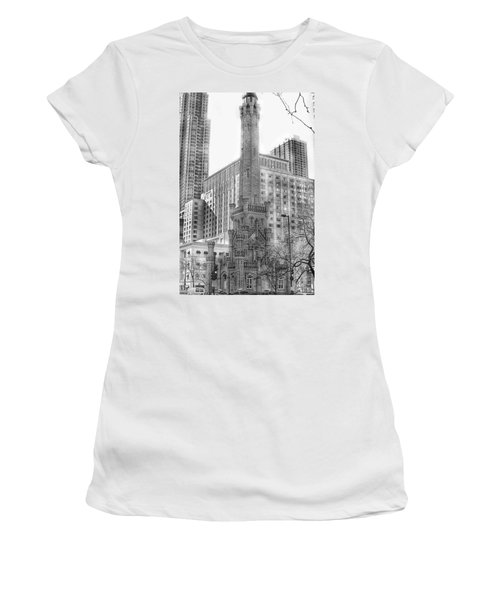 Old Water Tower - Chicago Women's T-Shirt
