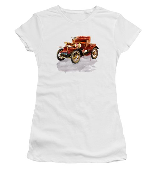 Oldtimer Car Watercolor Women's T-Shirt