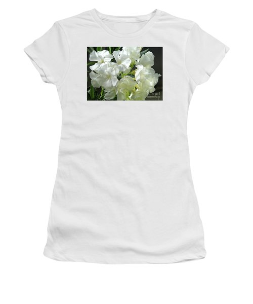Oleander Mont Blanc 2 Women's T-Shirt (Athletic Fit)