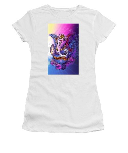 Omkareshvar Ganesha Women's T-Shirt