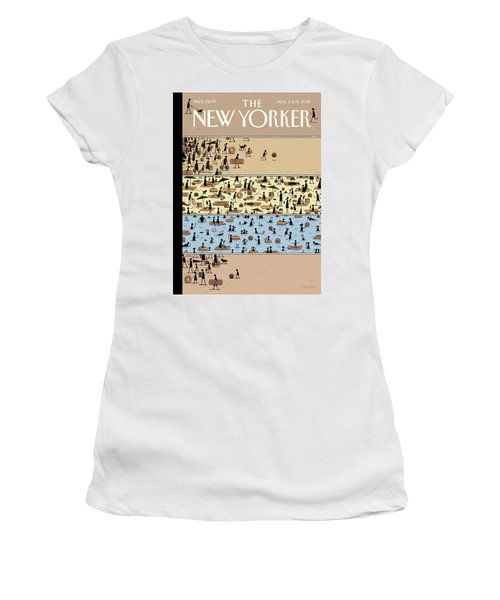 On The Beach Women's T-Shirt