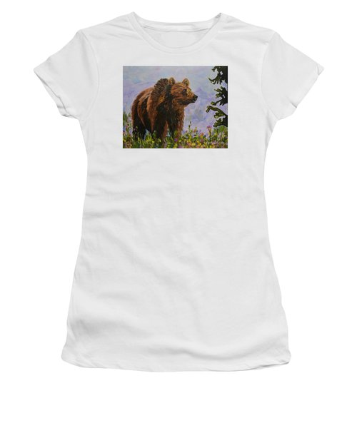 On The Prowl Women's T-Shirt (Athletic Fit)