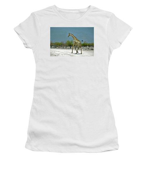 On The Run Again Women's T-Shirt (Junior Cut) by Ernie Echols
