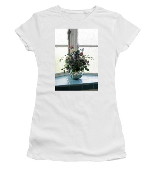On The Window Women's T-Shirt (Athletic Fit)