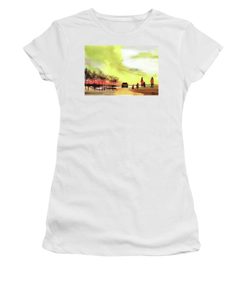 On Vacation Women's T-Shirt