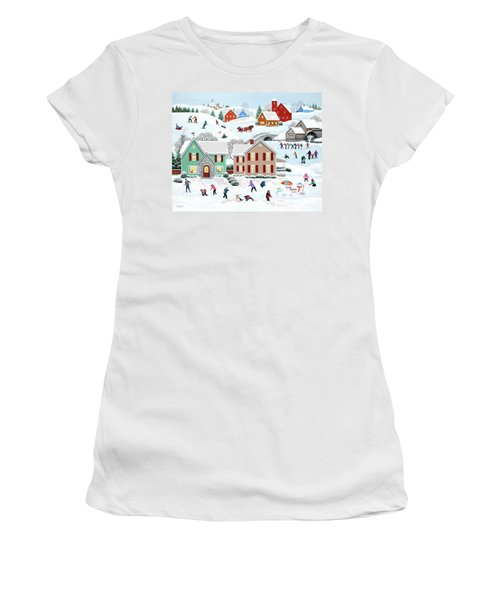 Once Upon A Winter Women's T-Shirt (Athletic Fit)