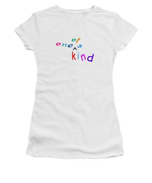 One Of A Kind Women's T-Shirt (Junior Cut) by Bill Owen