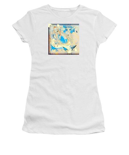 Women's T-Shirt (Junior Cut) featuring the digital art Only In A Dream by Gabrielle Schertz