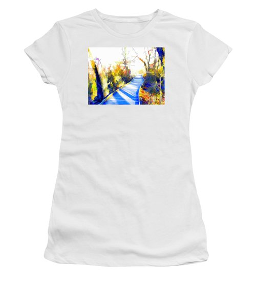 Open Pathway Meditative Space Women's T-Shirt