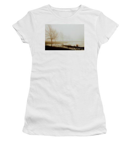Women's T-Shirt (Junior Cut) featuring the photograph Open Space by Iris Greenwell