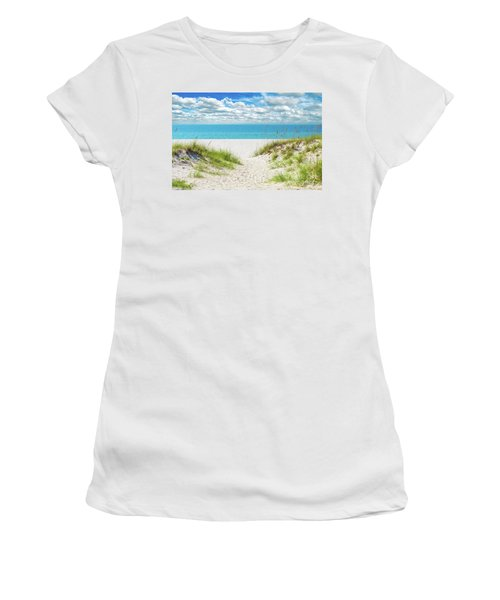 Orange Beach Al Seascape 1086a Women's T-Shirt
