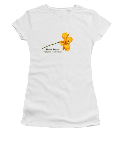 Orange Cosmos Isolated 2018-1 Women's T-Shirt